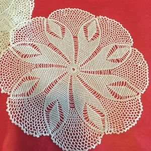 Vintage Handmade Dollie / Decorative Napkin